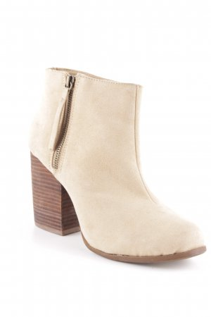 Zara Ankle Boots beige