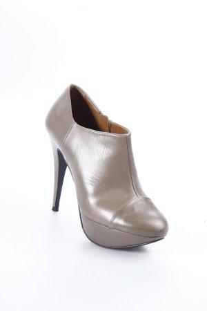 Zara Ankle Boots graubraun Eleganz-Look