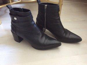 Zara ankle boots Leder Stiefelette