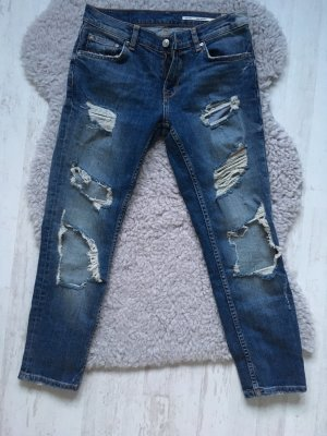 Zara Ankle Jeans destroyed