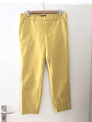 Zara Anzugshose in gelb