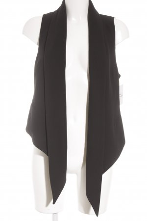 Zara Gilet de costume noir style d'affaires