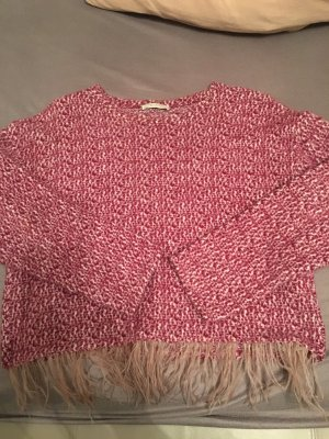 Zara Maglione oversize rosso mattone-color cammello