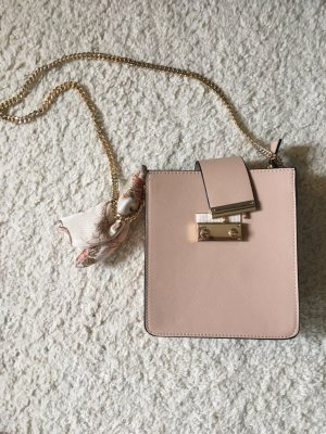 Zara Carry Bag nude synthetic material