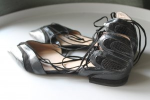Zara Ballerines Mary Jane noir