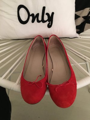 Zara Ballerines rouge