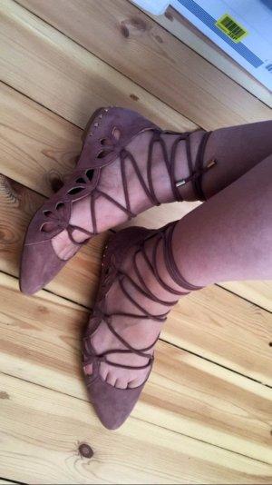 Zara ballerinas zum schnüren