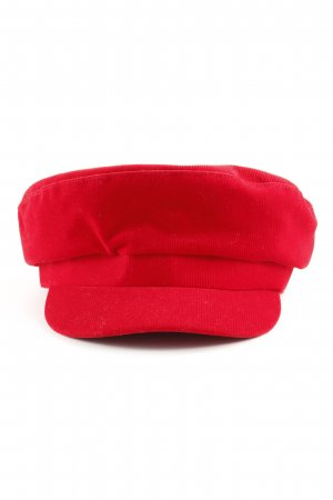 Zara Casquette gavroche rouge style simple