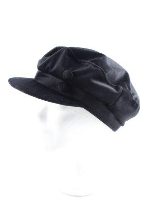 Zara Ballonmütze schwarz Casual-Look