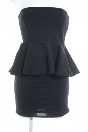 Zara Bandeaukleid schwarz Party-Look