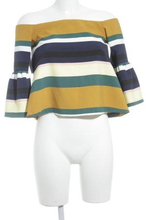 Zara Top a fascia motivo a righe elegante