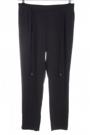 Zara Basic Pantalone a 7/8 nero stile casual
