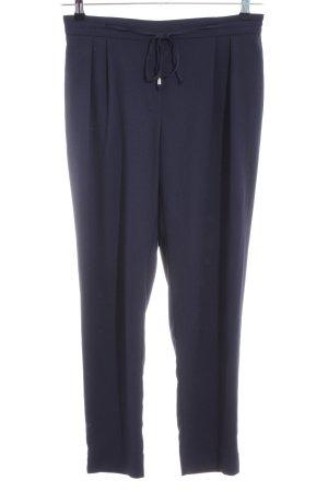 Zara Basic Pantalone a 7/8 blu stile casual