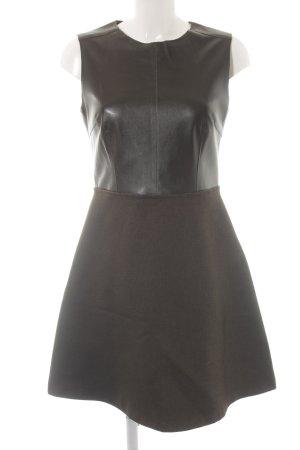 Zara Basic A-Linien Kleid schwarz Party-Look