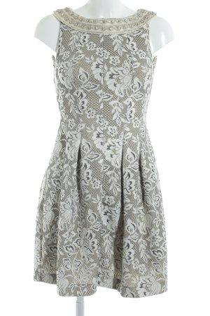 Zara Basic A-Linien Kleid Blumenmuster Elegant