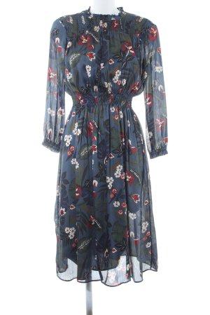 Zara Basic A-Linien Kleid Blumenmuster Romantik-Look