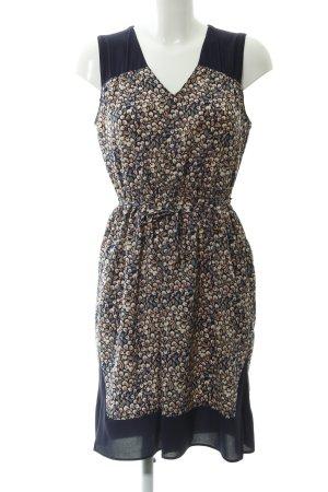 Zara Basic A-Linien Kleid florales Muster Casual-Look