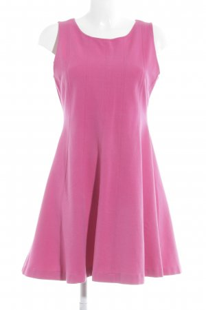 Zara Basic A-Linien Kleid pink Party-Look