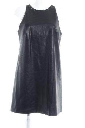 Zara Basic A-Linien Kleid schwarz Casual-Look