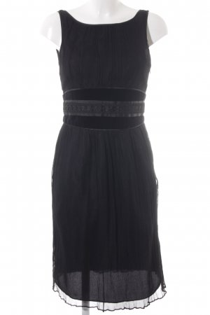 Zara Basic A Line Dress black elegant