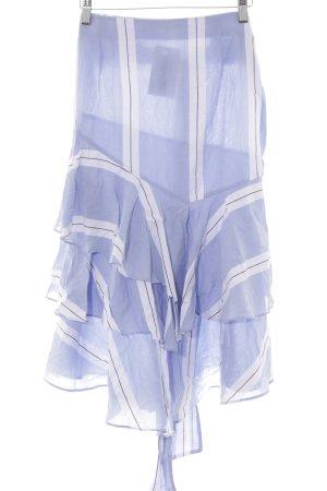 Zara Basic A-Linien Kleid Streifenmuster
