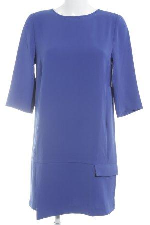 Zara Basic Abendkleid blau klassischer Stil