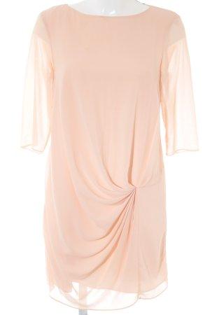 Zara Basic Abendkleid nude Elegant