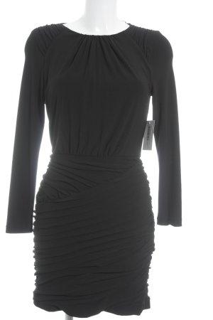Zara Basic Abendkleid schwarz Elegant