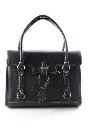 Zara Basic Aktentas zwart zakelijke stijl