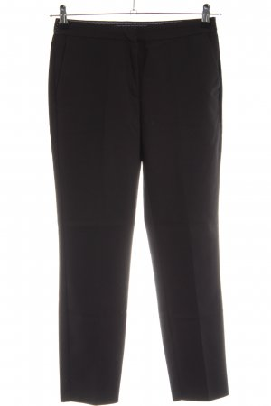 Zara Basic Pantalon zwart zakelijke stijl