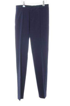 Zara Basic Suit Trouser blue business style