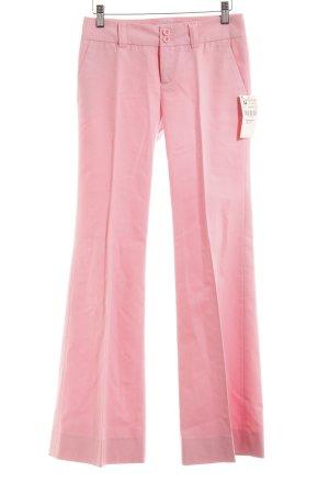 Zara Basic Anzughose rosa Business-Look