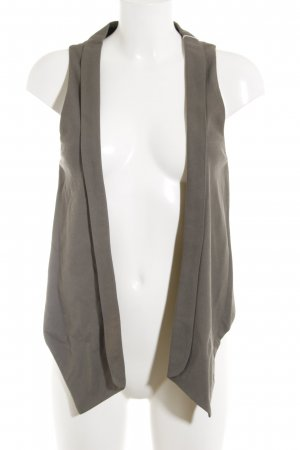 Zara Basic Gilet de costume gris brun élégant