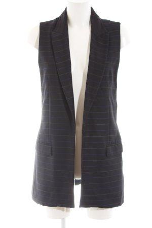 Zara Basic Gilet de costume rayure fine style d'affaires