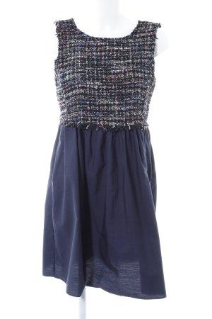 Zara Basic Babydoll-jurk geruite print elegant