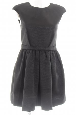 Zara Basic Ballonjurk zwart gestippeld elegant