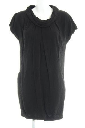 Zara Basic Ballonjurk zwart casual uitstraling