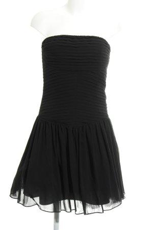 Zara Basic Ballonkleid schwarz Elegant