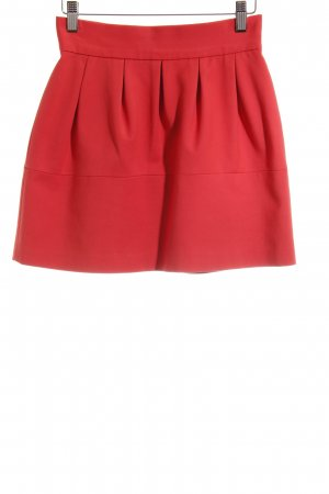 Zara Basic Ballonrock rot Business-Look