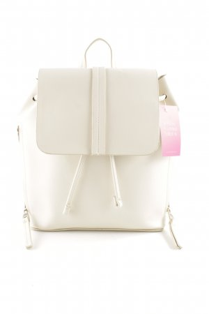 Zara Basic Pouch Bag natural white business style