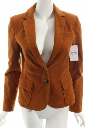 Zara Basic Blazer cognac Street-Fashion-Look