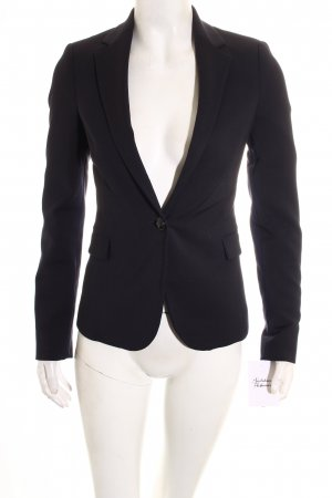 Zara Basic Blazer dunkelblau Business-Look