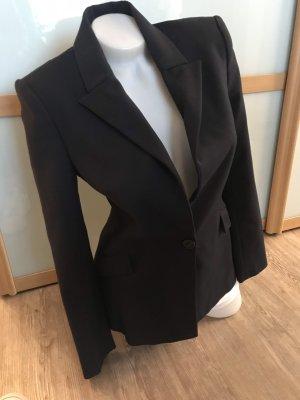 Zara Basic Blazer Gr.M elegant Business 38 dunkelblau Navy top