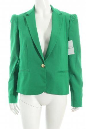 Zara Basic Blazer grün Casual-Look
