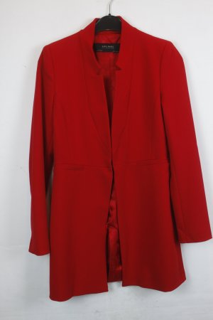 Zara Basic Blazer Longblazer Gr. S rot (18/4/012)