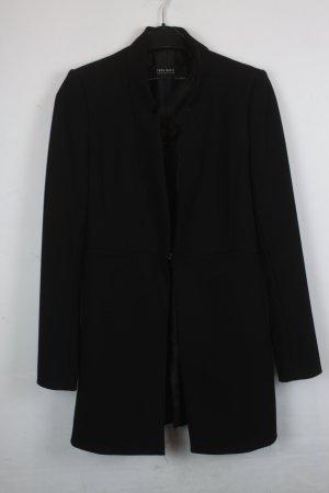 Zara Basic Blazer Longblazer Gr. S schwarz (18/4/011)