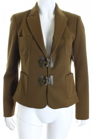 Zara Basic Blazer olivgrün Military-Look