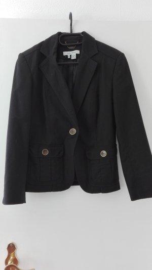 Zara Basic Blazer schwarz Business Jacke