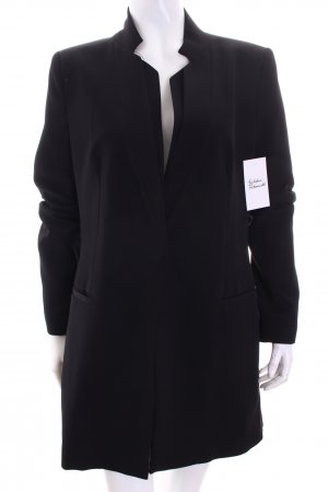 Zara Basic Blazer schwarz Business-Look