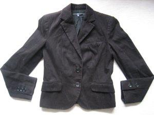 zara basic blazer schwarz gr. s 36